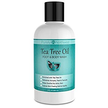 Purely Northwest's Antifungal Tea Tree Oil Body Wash
