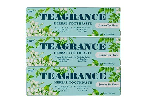 Teagrance Herbal Toothpaste Jasmine Tea Flavor