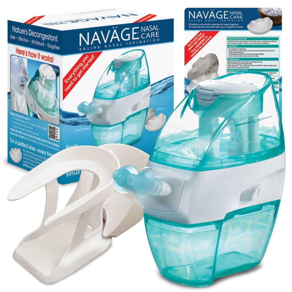 Navage's  Nasal Care Essentials Bundle